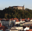 Reception at City hall & Ljubljana sight...